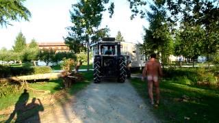 Mobilheimtransport Im Rutar Lido - Engstelle 4 Biotop