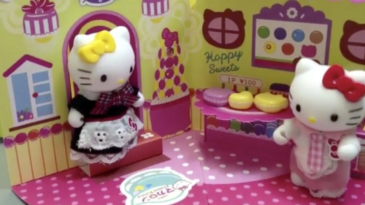 113ad2a54bd5 DAISO Sanrio Hello Kitty Dress Up Toys Set  04 - YouTube