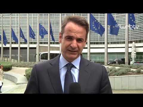Δήλωση Κυριάκου Μητσοτάκη μετά τη συνάντηση με τον Jean - Claude Juncker.