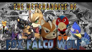 The Merchandise of Fox, Falco, & Wolf - Super Smash Collectibles 02