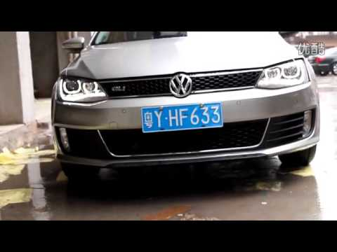 2011-2014 Volkswagen Jetta LED DRL Headlight with Angel Eye and HID Projector