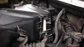 Fjerne Luftfilter TOYOTA - videoguide