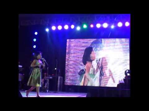 Lyca Gairanod Basang Basa Sa Ulan In Ms Lani Misalucha's Concert in Davao (8/29/14)