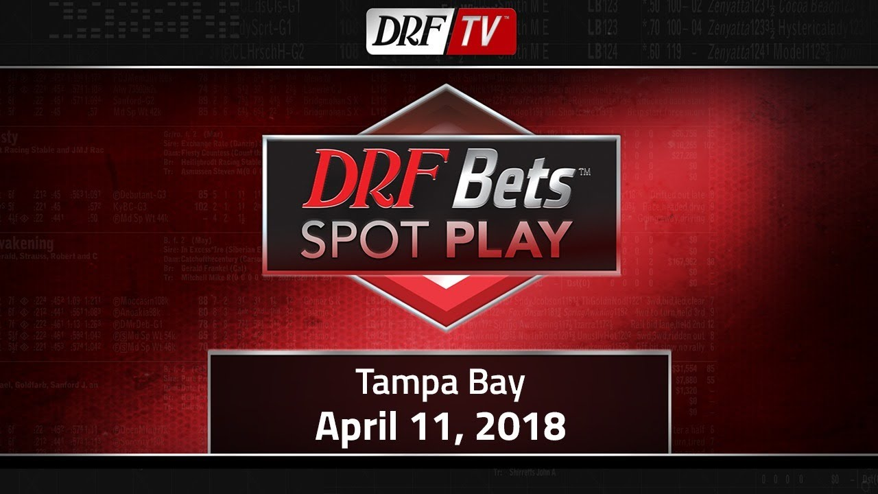 DRF Bets Spot Play - April 11, 2018 - Tampa Bay - Race 4