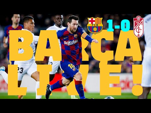 Barça - Granada | BARÇA LIVE: Warm Up & Match Center #BarçaGranada