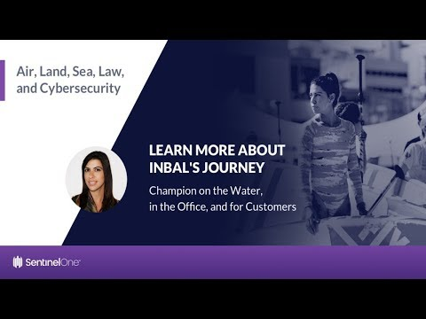 Air, Land, Sea, Law, and Cybersecurity | Inbal Levi, Global Renewals Manager