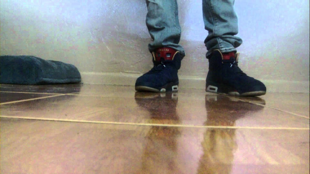 Air Jordan Retro VI Doernbecher On Feet - YouTube