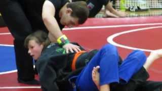 Karen O'Neal 2014 Jiu Jitsu Tournament -Championship Round