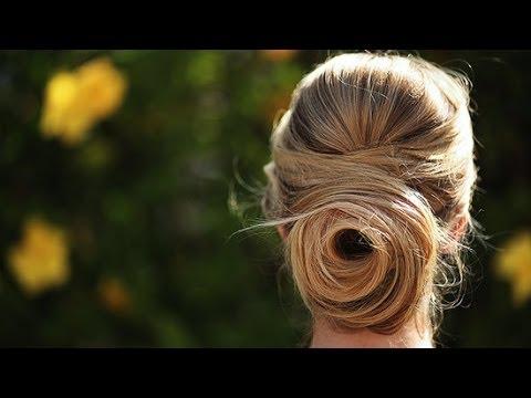 Rose Bun Tutorial   Hair Style Ideas   Beauty How To