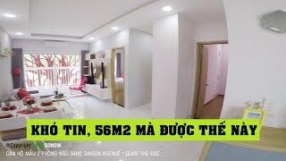 Căn hộ nhà mẫu Saigon Avenue, 2 phòng ngủ 45.5m2, Gò Dưa, Tam Bình, Thủ Đức - Land Go Now ✔