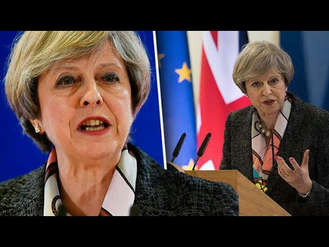 Theresa May: EU Summit speech. Says it's time to 'get on with Brexit'
