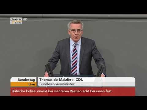 Bundestag: Debatte über das Gesetz zur besseren Durchsetzung der Ausreisepflicht am 23.03.2017