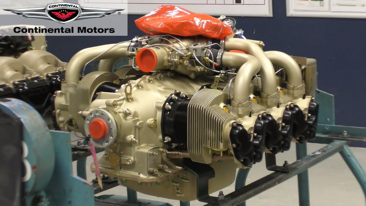 Building and Overhauling Aircraft Engines - A Visit to Continental Motors