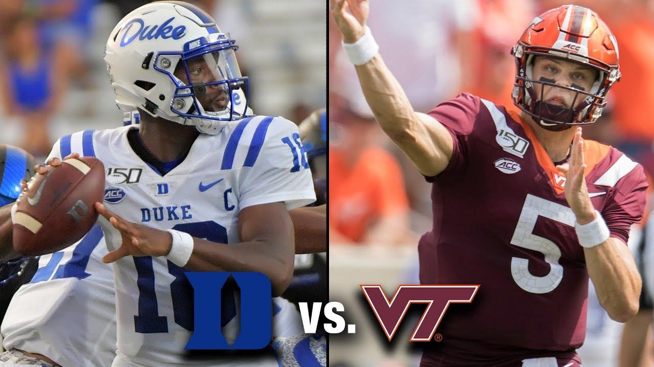 Duke Vs Virginia Tech 2019 Game Preview Youtube