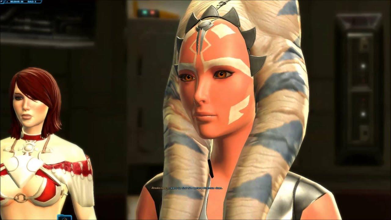 Ahsoka Tano Story 8 Star Wars The Old Republic - Youtube-3654