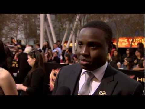 Dayo Okeniyi from the The Hunger Games L.A. World Premiere
