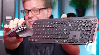 Logitech MX Master 3 & MX Keys, mieux que mieux ?