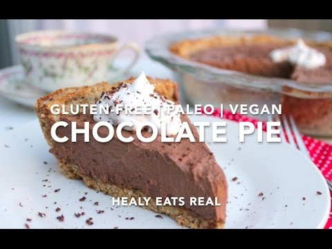 Chocolate Cream Pie Recipe (Paleo, Gluten Free & Vegan)