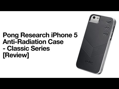 Pong Research Classic Series Anti-Radiation Case for iPhone 5 [Review]