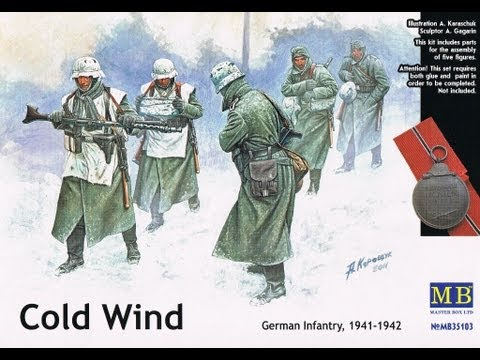"""Kit review: Masterbox """"Cold Wind"""" in 1/35 scale figures"""