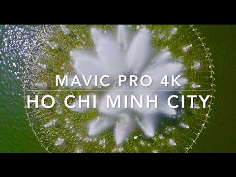 Mavic Pro 4K -  Ho Chi Minh City - March 2017