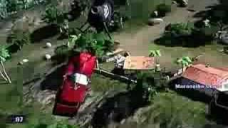 Mercenaries 2 World In Flames Helicopter Fun - Car Bombs