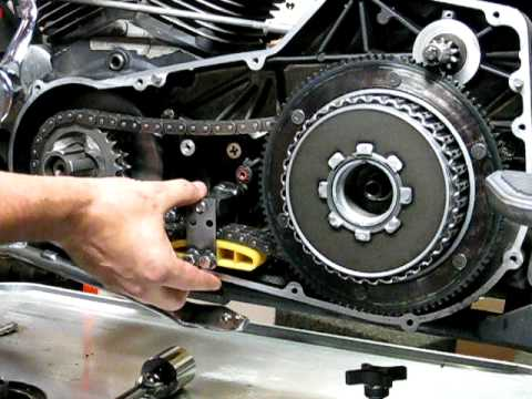 2003 Harley Sportster Wiring Diagram Stator Repair 3c Of 9 Primary Chain Shoe Replacement