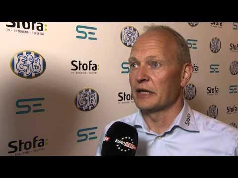 Niels Frederiksen-interview efter EfB-SJE - EurosportDK