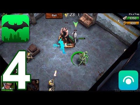 Batman: Arkham Underworld - Gameplay Walkthrough Part 4 - The Bowery: Riddler (iOS)