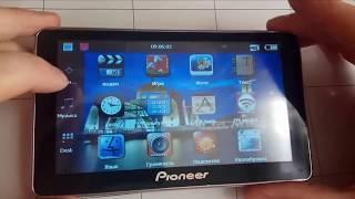 Установка Navitel 9.8 на навигатор Pioneer с Windows CE5