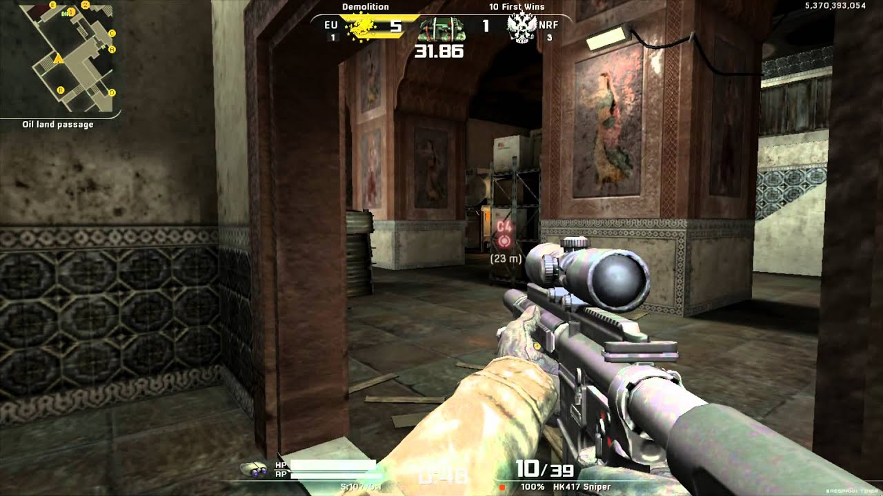 Alliance of Valiant Arms - AvA Gameplay - Death pack DLC Gun AN94 Death  Solo Game India Al