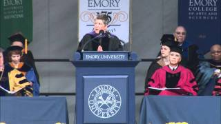 Janet Napolitano Emory University Commencement Address 2011