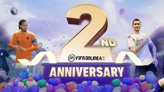 Fifa Online 4!играем в годовщину.Игре 2 года!Золото 3 за сборную России!