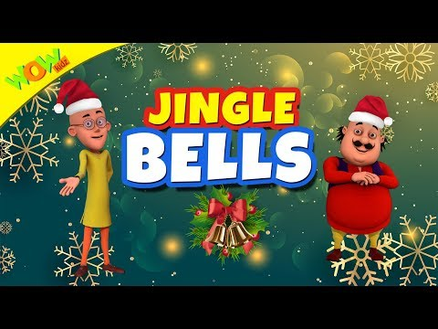 Jingle Bells Christmas Song for Kids | Hindi Songs for Children | Motu Patlu | WowKidz