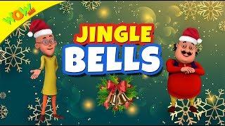 Jingle Bells Christmas Song for Kids | Hindi Songs for Children | Motu Patlu | WowKidz thumbnail