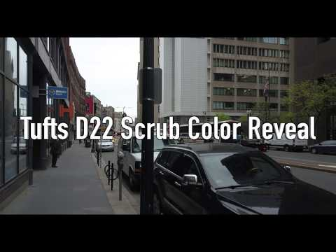 Tufts University School of Dental Medicine D22 Scrub Color Reveal
