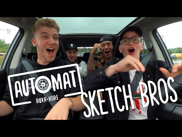 Sketch Bros - Pravda o rapovej kariére Olivera Oswalda | AUTOMAT | - Ruka Hore