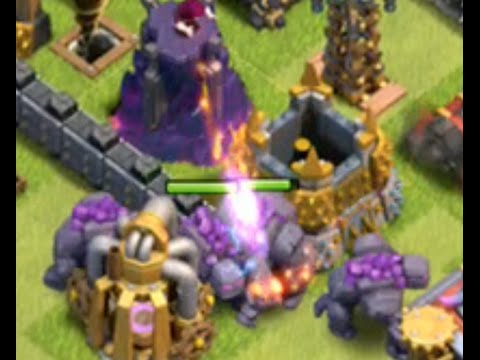 Clash of Clans - Troll Base Blasting - Golems Galore - and Update Urges! Episode 111