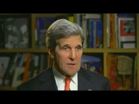 Secy. of State Kerry speaks to CNN about Edward Snowden