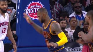 Cavaliers Hold Off Pistons to Go Up 3-0