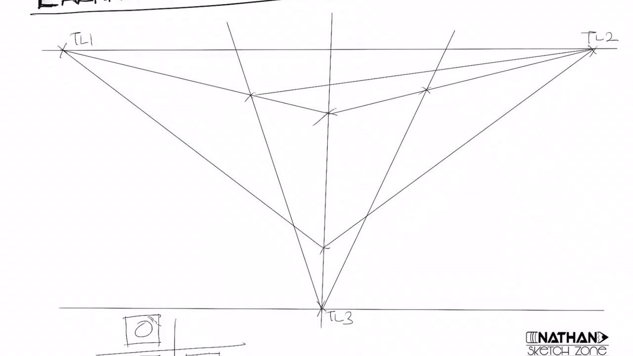 Lakaran Perspektif 3 Titik Youtube