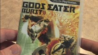 Classic Game Room - GODS EATER BURST packaging review