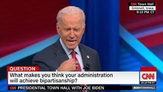 Joe Biden-Achieving Bipartisanship