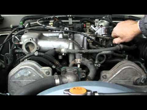 Noisy Isuzu Rodeo  Failed timing belt hydraulic tensioner slapping  YouTube