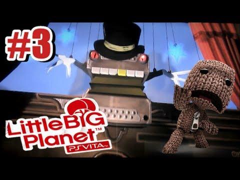 Little Big Planet PS Vita - Story Mode Part 3