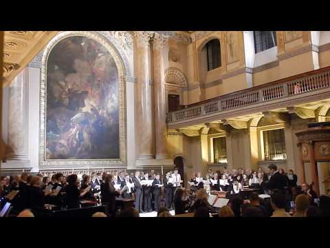 Greenwich University Choir - The Snow - Elgar