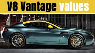 Finally At The Bottom Aston Martin V8 Vantage Depreciation And Buying Guide Youtube