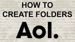 كيفية إنشاء المجلدات في AOL البريد