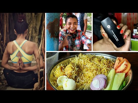 vlog---cooking-chicken-biriyani---cheat-meal-guide-for-weight-loss,-eat-anything-&-stay-thin,-haul