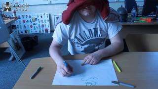 Blindfold Mario challenge Dave vs Ben